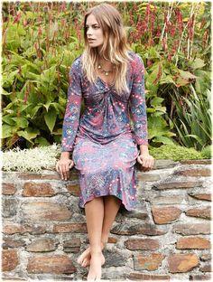 Twist Front Jersey Dress #fairtrade