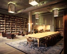 This 29,000 sqft renovation in one of Greenpoint's landmarked pencil factories provides a multi-functional space for Kickstarter. The design includes a habit...