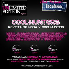 The Unlimited Edition Magazine. Los coolhunters en la red ||Be Unlimited, Be Yourself|| www.theunlimitededition.com #coolhunter #coolhunting #facebook #fashion #moda #trends #beauty #tendencias #social #belleza #magazine