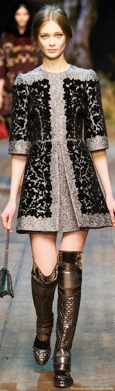 Dolce & Gabbana F/W 2014 RTW | The House of Beccaria