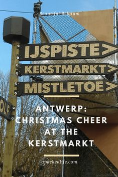 Antwerp: Christmas Cheer at the Kerstmarkt