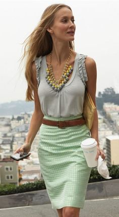 Awesome- skirt and outfit!!