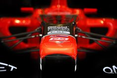 Front view of our Marussia F1