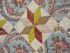 Prussian Brillant Blues! 1820/30s Star Chintz QUILT Antique FOR Study Lecture | Antiques, Linens & Textiles (Pre-1930), Quilts | eBay!