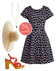 """""""Cause a Seed Dress"""" by modcloth ❤ liked on Polyvore featuring women's clothing, women, female, woman, misses and juniors"""
