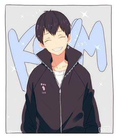 Oh god..... KAGEYAMA IS SMILING♡▪♡