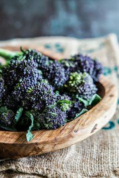 Purple Sprouting Broccoli   Multiculti Kitchen - Aniko L. Takacs