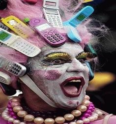 funny people pictures   Funny Pictures - Crazy Mobile Man