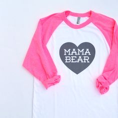 Mama bear shirt! Too cute!!