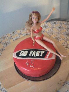 Go Fast cake made by me, for my boss' birthday!