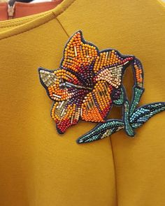 Солнечное настроение цвета куркумы)антидипрессант из бисера ручной работы , сделано с любовью