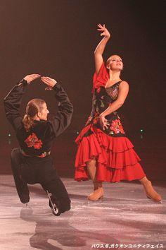 2部:Marina ANISSINA & Gwendal PEIZERAT「Flamenco」