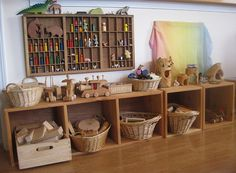 Reorganized Cubbies by Amy Wonder Years