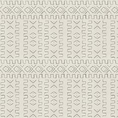 Mali African Mud Cloth Wallpaper Design l White and Black Wallpaper l Amber Interiors Wallpaper