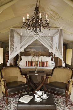 Selous Luxury Camp, Selous Game Reserve, Tanzania