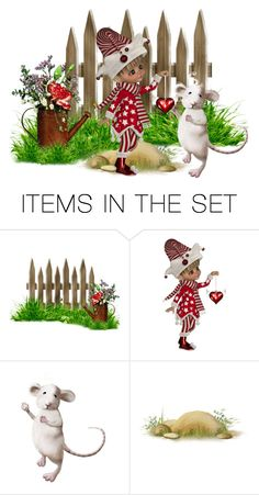 """3 Item Challenge Contest with Rodentia Mountain Mouse! n°2"" by tempestaartica ❤ liked on Polyvore featuring art"