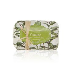 Verbena Fragranced Soap - This set hand poured candles and soaps provide a warm and lasting aroma which makes them an elegant luxury and a beautiful addition to any room. The hand crafted soaps ensure gentle cleansing for your skin. #INVHome #LuxuryHomeDecor #InteriorDesign #RoomDecor #Decorations #Decor #INVHomeLinen #Tableware #Spa #Gifts #Furniture #LuxuryHomes #Spa #PersonalCare