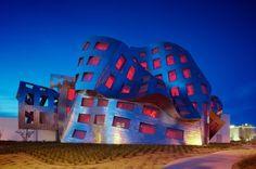 Cleveland Clinic Lou Ruvo Center for Brain Health / Frank Gehry #titanium