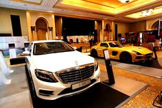 Event at Abu Dhabi's Emirates Palace showcases luxury accessories, high-end cars and limited edition treasures High End Cars, S Class, Expensive Cars, Twin Turbo, Abu Dhabi, Fast Cars, Engine, Luxury, World