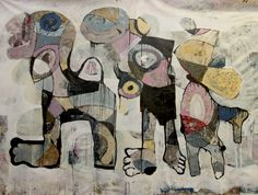 Dariusz Labuzek Art is the art studio of San Francisco based painter who works with abstract, figurative, and expressionist art. Modern Art, Contemporary Art, Outsider Art, Art Studios, Impressionism, Cool Furniture, Original Paintings, Abstract Art, Wall Art