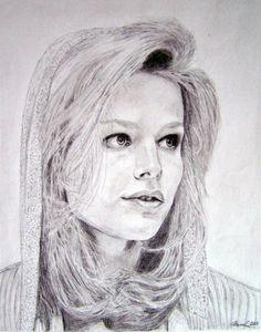 Helena Houdová portrét - Pencil