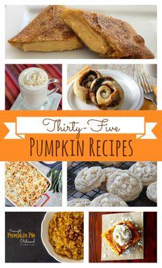35 Pumpkin Recipes