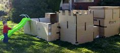 A father in Utah who expressed his playful side by building a massive cardboard-box fort in the yard for his kids last week has since been dealing with a serious killjoy: his city of Ogden, which has warned him to disassemble the fort by April 13 or face fines for the structure being in violation of building codes.
