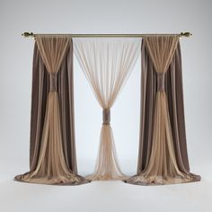 Bedroom curtains with blinds drapery hardware 70 Ideas Bedroom Curtains With Blinds, Living Room Decor Curtains, Swag Curtains, Modern Curtains, Colorful Curtains, Small Window Curtains, Curtain Styles, Curtain Designs, Interior Flat