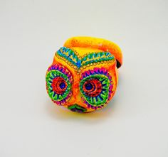 Hey, I found this really awesome Etsy listing at https://www.etsy.com/listing/243375928/love-box-of-the-day-of-the-dead-owl-ring