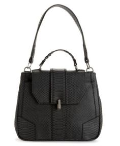 RACHEL Rachel Roy Handbag, Serpent Lady Satchel - RACHEL Rachel Roy - Handbags & Accessories - Macy's