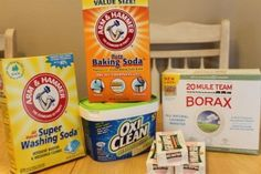 Make your own laundry detergent!  - http://www.pinchingyourpennies.com/make-laundry-detergent/ #DIY, #Laundrydetergent, #Makeyourown