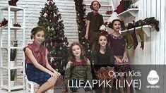 OPEN KIDS - Щедрик | Carol of the Bells | Ukrainian Christmas Song | A c...