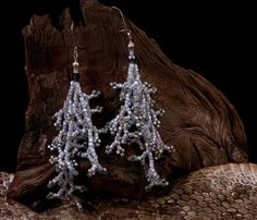 Artisan crafted beaded earrings