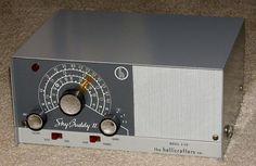 Vintage Hallicrafters Sky Buddy II Amateur Receiver, Model S-119, Broadcast Plus 2 Short Wave Bands, 3 Tubes, Metal Case, Circa 1961 - 1964.