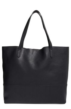 Street Level 'Large' Faux Leather Shopper available at #Nordstrom love this in tan