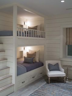 121 Best Bunk Bed Images On Pinterest Bunk Beds Kids Room And