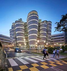 Pilares del Conocimiento: de Heatherwick Luscious Learning Hub Abre en Singapur - Architizer