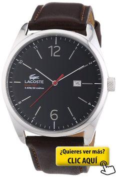 Lacoste 2010682 - Reloj analógico de cuarzo para... #reloj #hombre