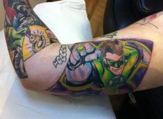DC Comic Tattoo Sleeve ft. Green Lantern 8531 Santa Monica Blvd West Hollywood, CA 90069 - Call or stop by anytime. UPDATE: Now ANYONE can call our Drug and Drama Helpline Free at 310-855-9168.
