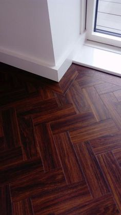 Client: Private Residence In East London Brief: To supply & install Amtico herringbone flooring to premises Wooden Flooring, Kitchen Flooring, Bathroom Floor Tiles, Tile Floor, Floor Design, House Design, Amtico, Future Office, Refurbishment