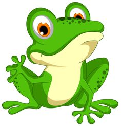Green frog PNG and Clipart Frog Pictures, Colorful Pictures, Frog Coloring Pages, Baby Animals, Cute Animals, Casper The Friendly Ghost, Frog Art, Green Frog, Cute Frogs
