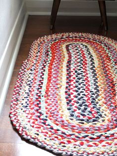 I love making projects that involve at least one of the following criteria: decluttering, upcycling, sewing and a need. This Braided T-shirt Rug ticks all the boxes, so when I spotted a circular rug made by Sewing For Life on Pinterest, I was itching to start on my own immediately. Here's why… Declutter – I'd been hounding Mr Man to...