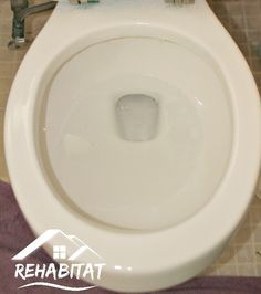 Learn how to remove hard water stains from toilets and other places around the home. With Oklahoma's extremely hard water, this has been our only solution!