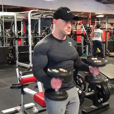 Gym Workout Chart, Gym Workout Videos, Gym Workout For Beginners, Workout Fitness, Bicep And Tricep Workout, Forearm Workout, Gym Workouts For Men, Shoulder Workout, Muscle Fitness