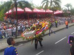 Medellín Desfile de silleteros. Feria de las flores