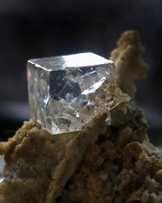 Fluorite cube from Dalnegorsk Russia ...reminds me of my own piece that has Pyrite attached!