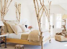 Tree bed bedroom design
