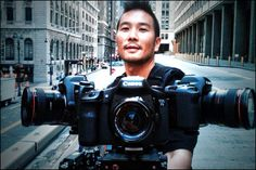 Evan Leong with the crazy ass rig: