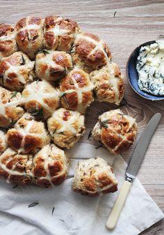 Easy to make gourmet hot cross buns for Easter!