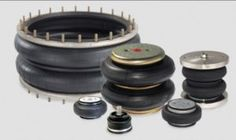 New air spring product line for industrial applications
